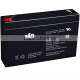 HR6-36W 6v 9.4ah 6v9.4ah high rate battery 6v rechargeable