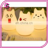 Wholesale cute fashion design animal LED night light for kids
