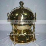 Brass & Stainless Steel Food Warmer Chafing Dish