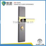 Hotel main entrance iron black <b>upvc</b> <b>door</b> handle <b>locks</b>