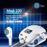 Shrink Trichopore Med-100 Home IPL Machine Mini Hair Removal Skin Care System Machine Led Medical System Armpit / Back Hair Removal