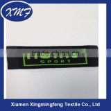 Low Price High Density Fashion Iron on Garment Label