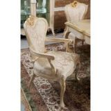 Classic Luxury Carved Dining Chair Wooden
