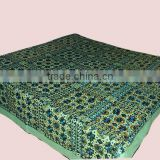 Ethnic Handmade Embroidery Mirrorwork BedSpreads-India
