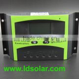 high quality 30a 40a solar system controller with LCD