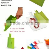 plastic folding chopping board