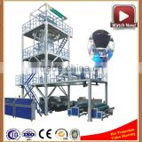 High Speed ABA Plastic Stretch Single Layer Pe Extruder Machine For Agricultural film greenhouse