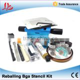 Universal Reballing Bga Stencil Kit for Laptop Gameconsole 10 pcs Stencil + 15 free Gifts