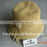 paper string straw hat
