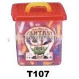 660pcs PS building block with bucket set