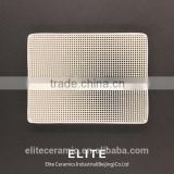 Iron Casting Mullite Ceramic Honeycomb Filter Slice