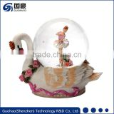 water snowstorm ballet dancer figurine snow globes
