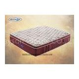 Comfortable 10 Inch Compressed Pillow Top Pocket Coil Mattress For Hotel