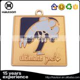 Wholesale cheap custom judo medal diecast zinc alloy material soft enamel plating gold us medal of honor