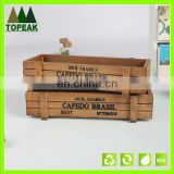 Popular Wooden Pallet Boxes for Mini Potted Succulent Plant wooden pallet boxes