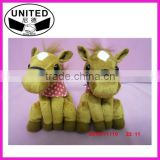 Brown repeat talking horse for 17 cm height