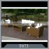 wicker outdoor sofa set