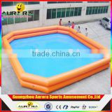 Funny Inflatable Water Pool For Outdoor Commercial Use Sealed Inflatable Swimming Pool For Sale