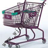 American style supermarket 90L shopping cart trolley for sale