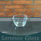 Hot Sale Square Clear Glass Tumbler Cup