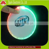 led light up glass mat