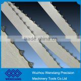Butcher shops band saw blade and supermarkets band saw blade for cutting meat, bone, fish