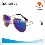 Wholesale Eye Wonder Women Men Handmade Retro Acetate Polarized Aviator Sunglasses