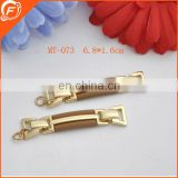 nice golden metal trim decorative for garment and shoes accessories
