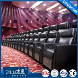 Wholesale recliner home theater sofa,commercial reclining cinema sofa with cupholder