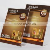 china alibaba supplier acrylic slanted sign holder                                                                         Quality Choice