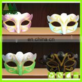 Plastic Gold lace Halloween Karneval party PVC Masquerade Mask