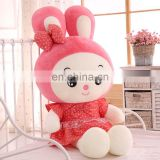 Wholesale super cute rabbit toys for kids