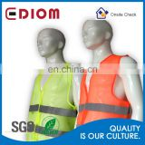 Wholesale High Visibility Breathable Cheap Reflective Mesh Safety Vest