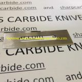 Slotted blades, slotted razor blades, industrial razor blades, carbide razor blades, film cutting blades