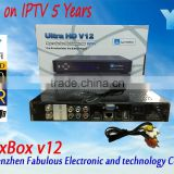 Hot new products for 2015 alibaba recommend product jynxbox v12 hd digital satellite tv receiver ultra hd v12 hot sex video