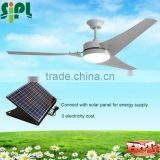 vent goods DC fan residential 60 inch 30 watt solar panel solar ceilingl fan with dc motor G