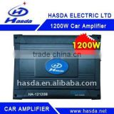 24V 1200W 4 Channel Bridgeable auto amplifier