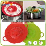 Cooking Overflow Stop Silicone lid Spill Stopper Silicone Cover Lid