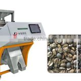 Automatic best quality coffee bean color sorting machine