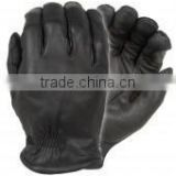 Police Winter Leather Gloves