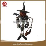 Hand craft lovely metal halloween party decorations
