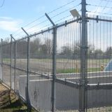 Powder coated 358 wire mesh fence panel (fence manufacturer)