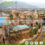 Artificial Rock Landscape Themes of Maya Civilization