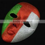 New 2015 wholesale venetian masks masquerade for decoration full face masks colorful paint