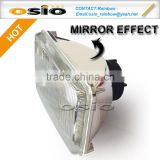 <b>5</b> inch Square 12V / 24V Auto Halogen mirror Semi Sealed Beam Auto Halogen <b>Lamp</b> Install H4 or <b>HID</b> H4 <b>Xenon</b> Bulb