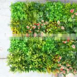 Home and outdoor decoration synthetic cheap artificial vertical green grass wall E08 04B10
