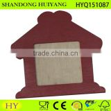 high quality cheap colorful plywood photo frame DIY