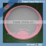pink vacuum forming of ceiling lamp shades