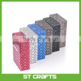 Creative Metal Cigaret Case Sticks Personality Cigaret Metal Cigarette Case Hollow Cigarette Box