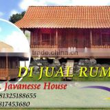 Javanese Antique House Huts